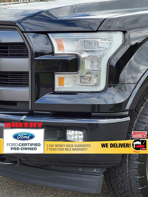 2017 Ford F-150 SuperCrew Cab 4x4, Pickup #JP2180 - photo 5