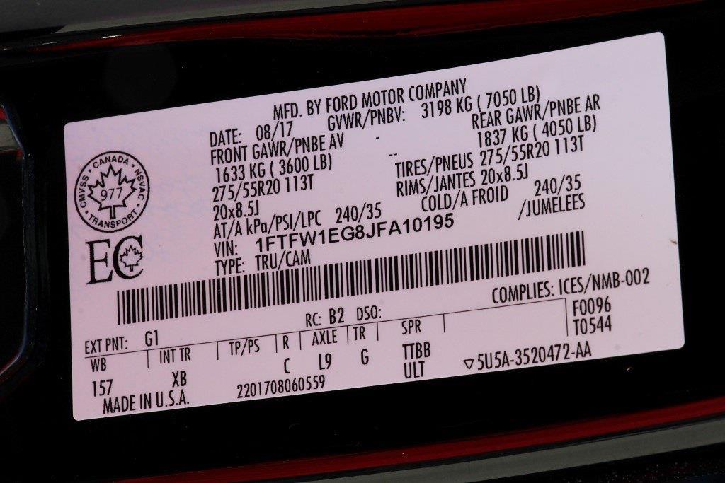 2018 Ford F-150 SuperCrew Cab 4x4, Pickup #JP2372 - photo 37
