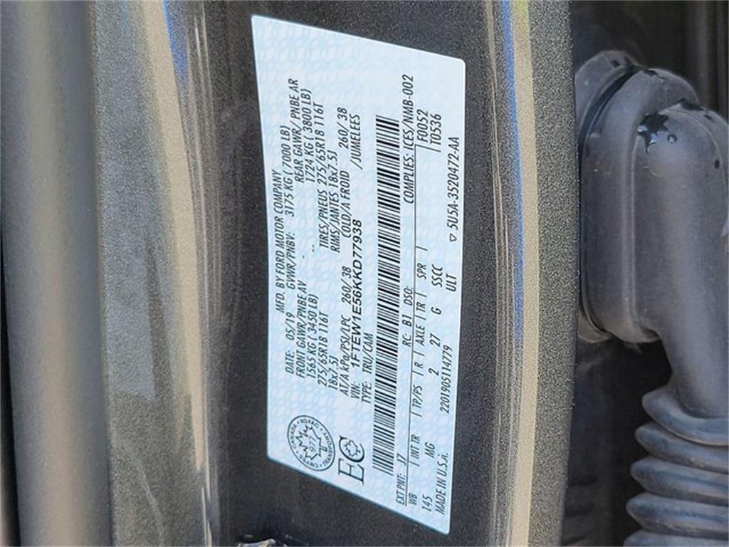 2019 Ford F-150 SuperCrew Cab 4x4, Pickup #JP2378 - photo 32