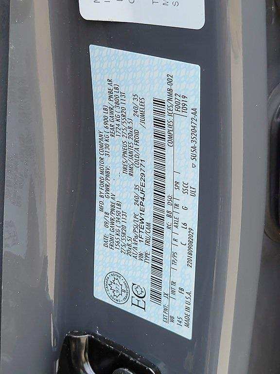 2018 Ford F-150 SuperCrew Cab 4x4, Pickup #JP2444 - photo 43