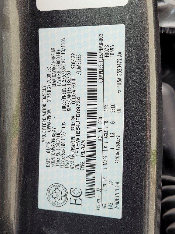 2018 Ford F-150 SuperCrew Cab 4x4, Pickup #JP2480 - photo 34