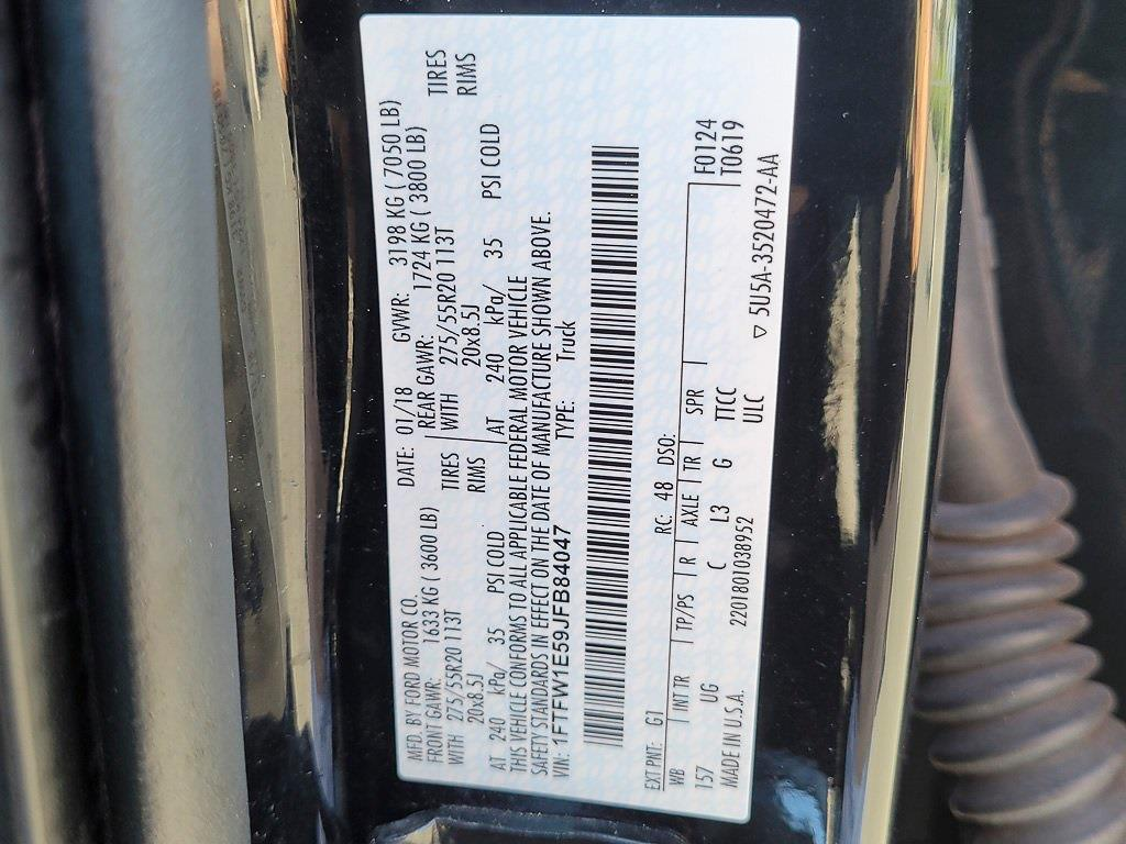 2018 F-150 SuperCrew Cab 4x4,  Pickup #JP2567 - photo 35