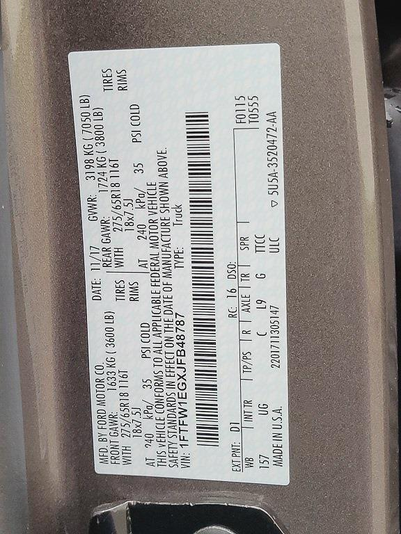 2018 F-150 SuperCrew Cab 4x4,  Pickup #JP2585 - photo 31