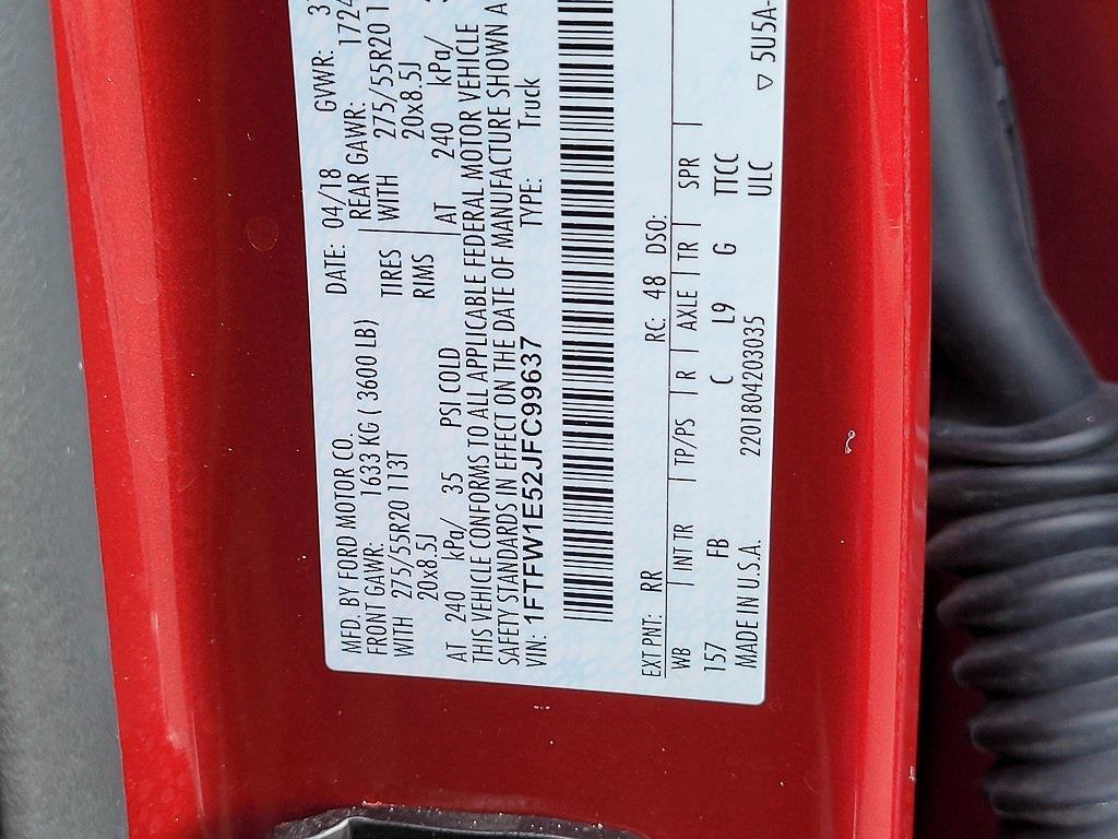 2018 F-150 SuperCrew Cab 4x4,  Pickup #JP2586 - photo 34