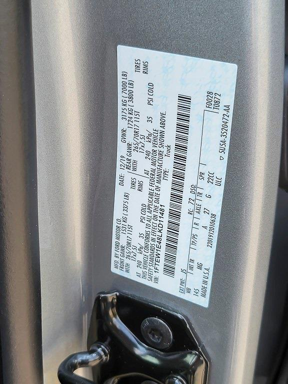 2020 Ford F-150 SuperCrew Cab 4x4, Pickup #JXYP3842 - photo 41