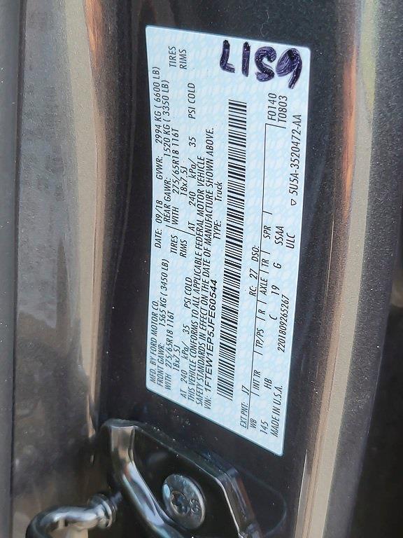 2018 Ford F-150 SuperCrew Cab 4x4, Pickup #JZ2432 - photo 41