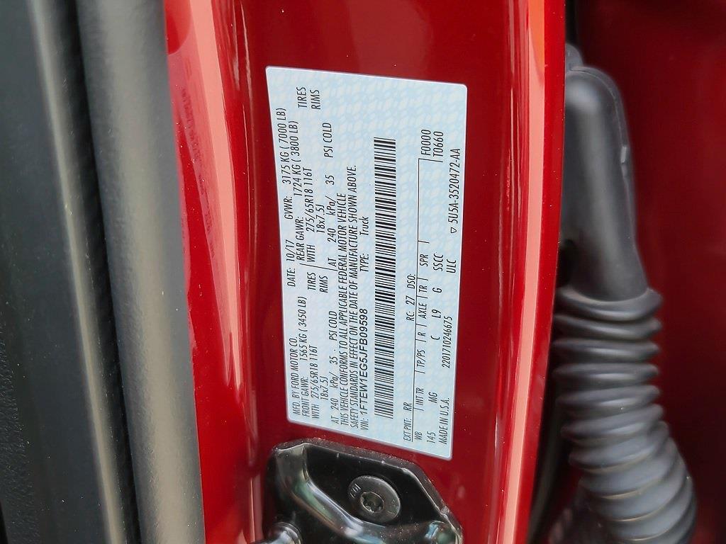 2018 Ford F-150 SuperCrew Cab 4x4, Pickup #JZ2499 - photo 42