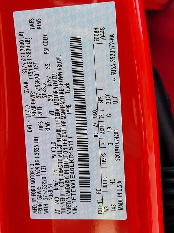2020 F-150 SuperCrew Cab 4x4,  Pickup #JZ2542 - photo 41