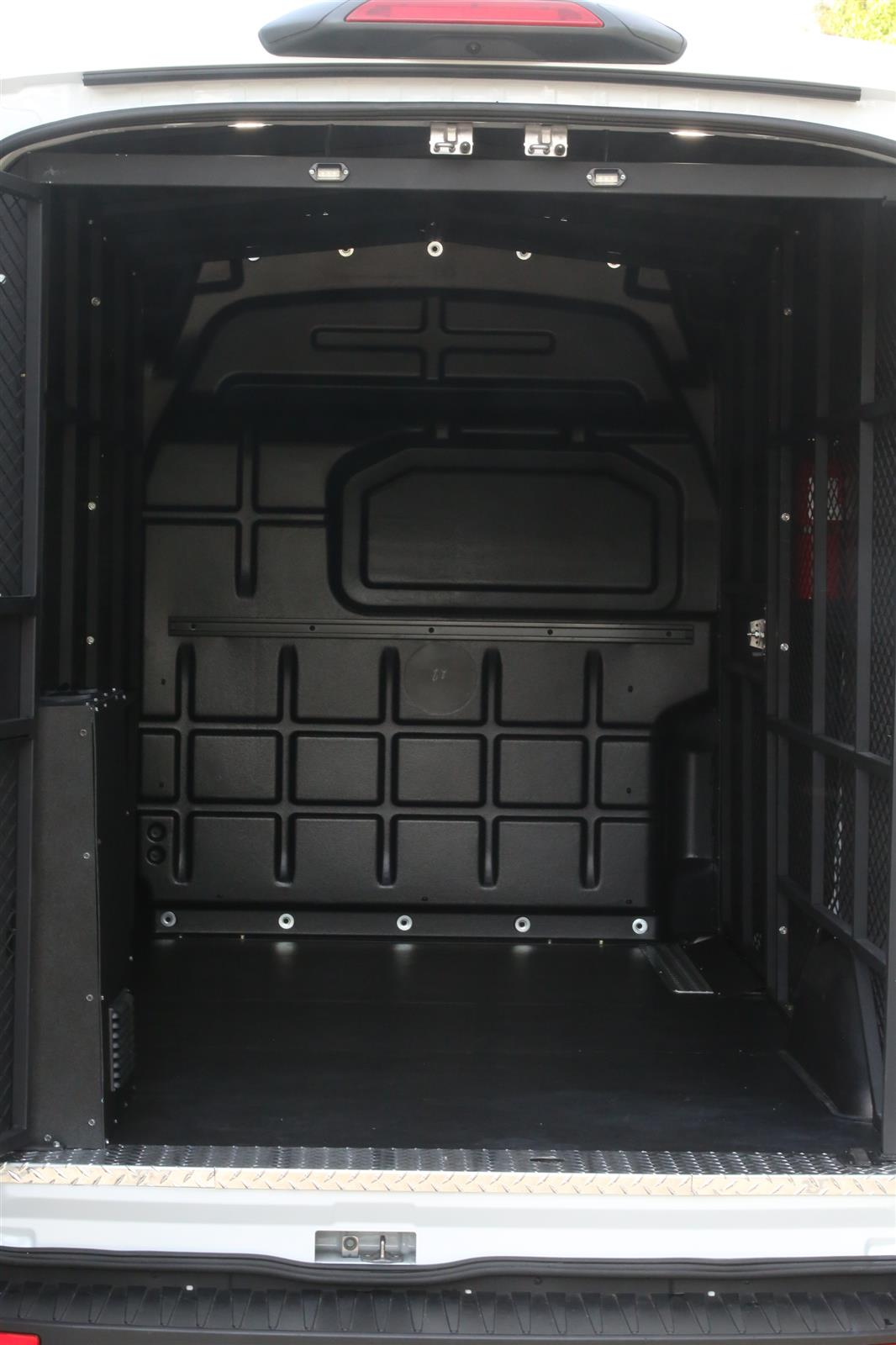 2019 Ford Transit 150 Med Roof 4x2, Ford Transit Secure Transport with Rear A/C #KB76784 - photo 1