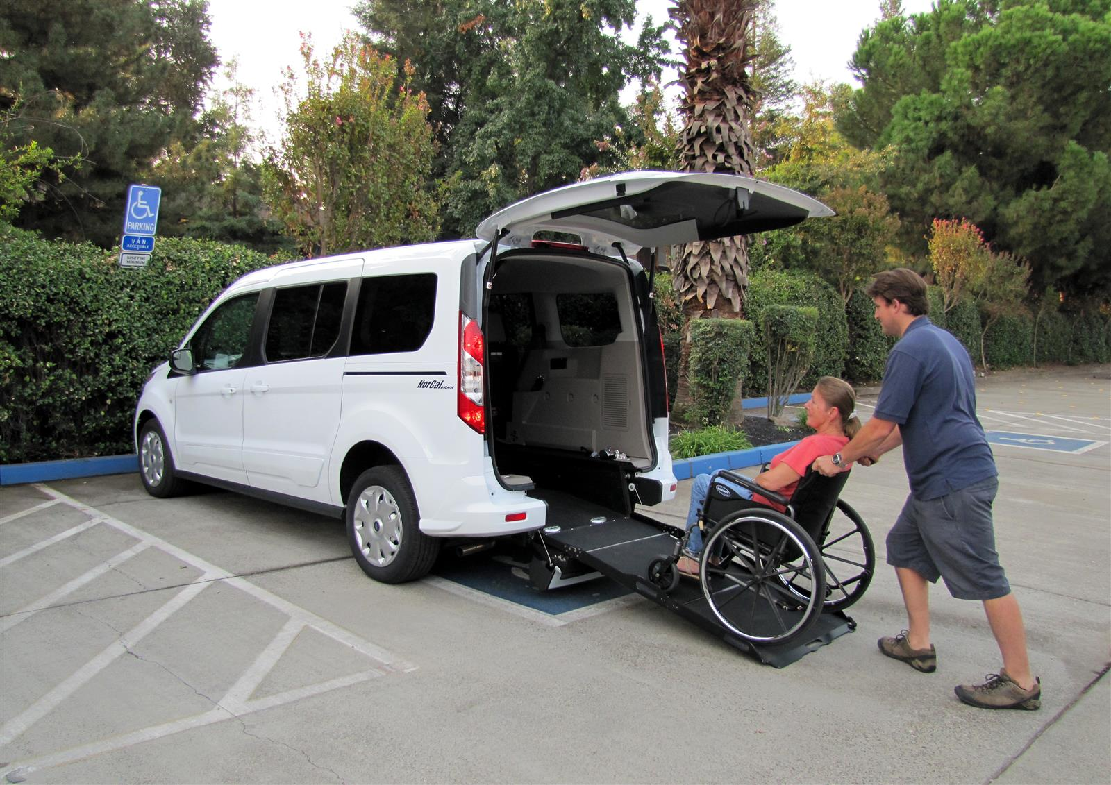 2018 Ford Transit Connect 4x2, Wheelchair van with rear entry #T375066 - Livermore Auto Group - photo 1