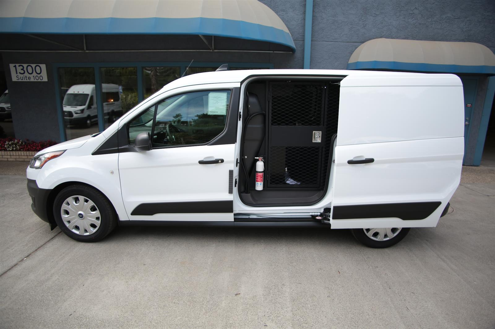 2020 Ford Transit Connect, Ford Transit Secure Transport with Rear A/C #T438218 - photo 1
