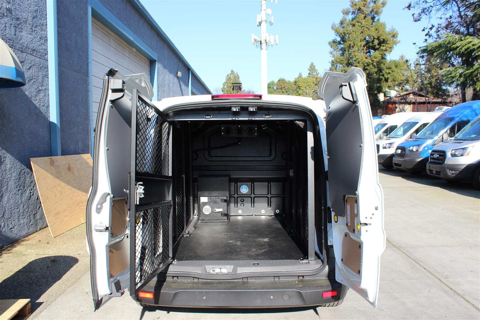 2020 Ford Transit Connect, Ford Transit Secure Transport with Rear A/C #T438221 - photo 1