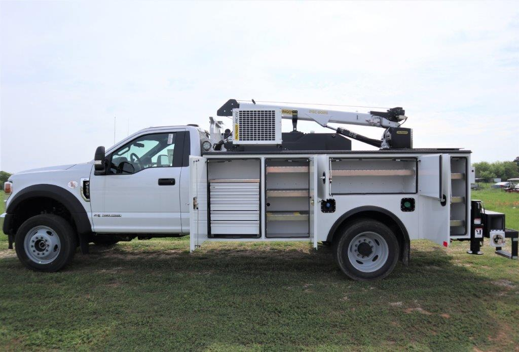 2020 Ford F-550 Regular Cab DRW 4x4, Palfinger PAL Pro 39 Mechanics Body #C52178 - photo 18