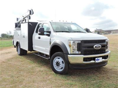 2019 F-550 Super Cab DRW 4x4,  Palfinger PAL Pro 39 Mechanics Body #E82563 - photo 1