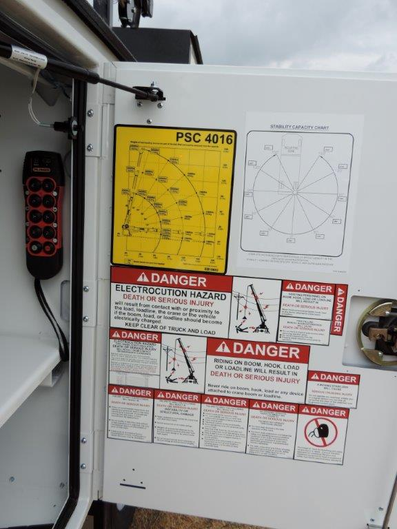 2019 F-550 Regular Cab DRW 4x4,  Palfinger PAL Pro 20 Mechanics Body #F01102 - photo 16