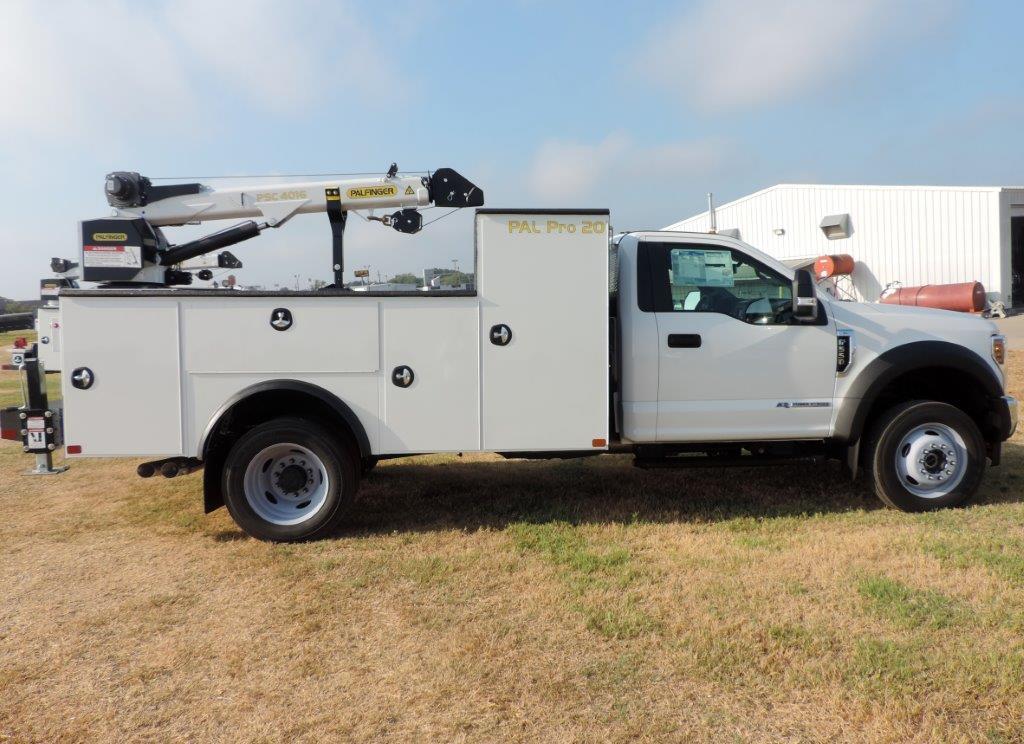2019 F-550 Regular Cab DRW 4x4,  Palfinger PAL Pro 20 Mechanics Body #F39281 - photo 3