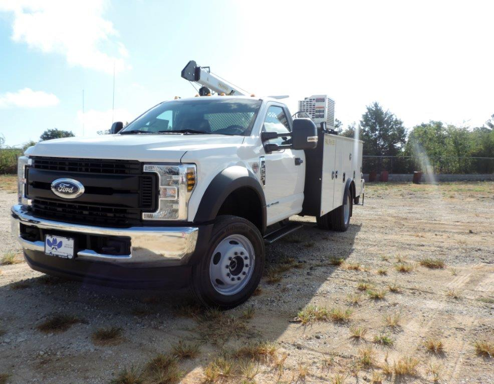 2019 F-550 Regular Cab DRW 4x4, Palfinger Mechanics Body #F39281 - photo 1