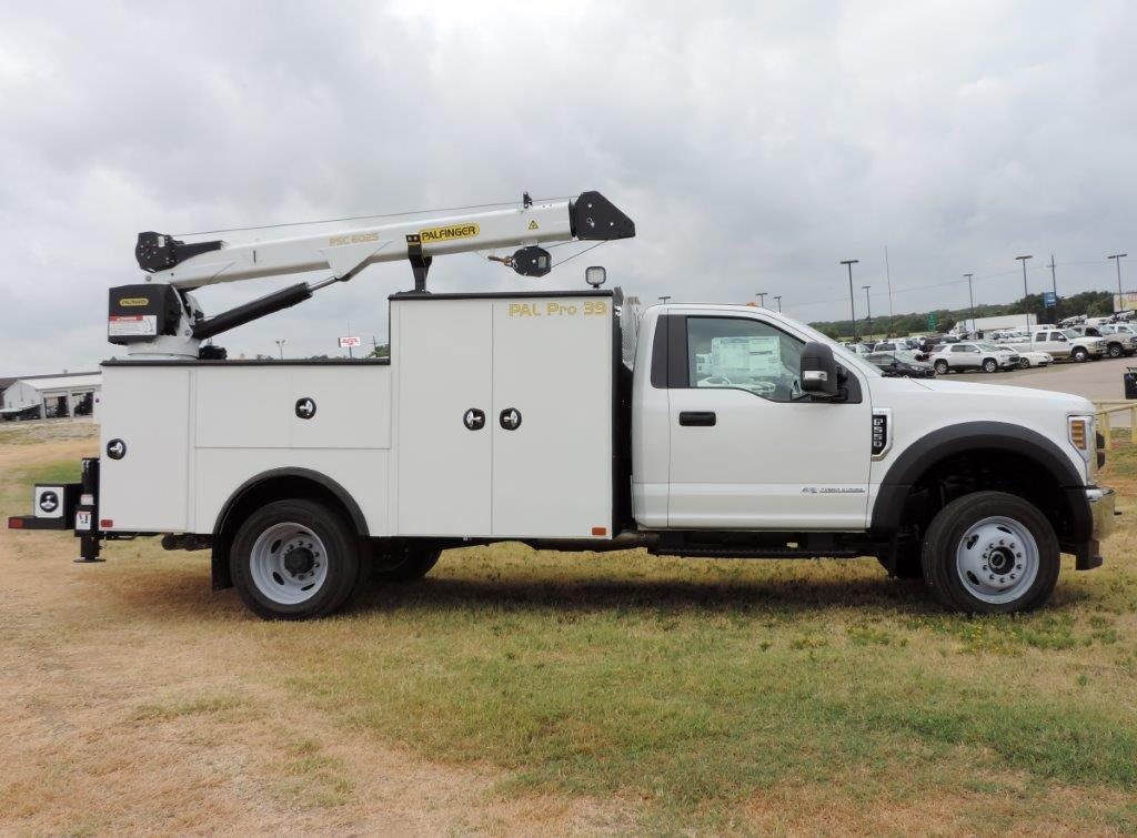 2019 F-550, Palfinger Mechanics Body