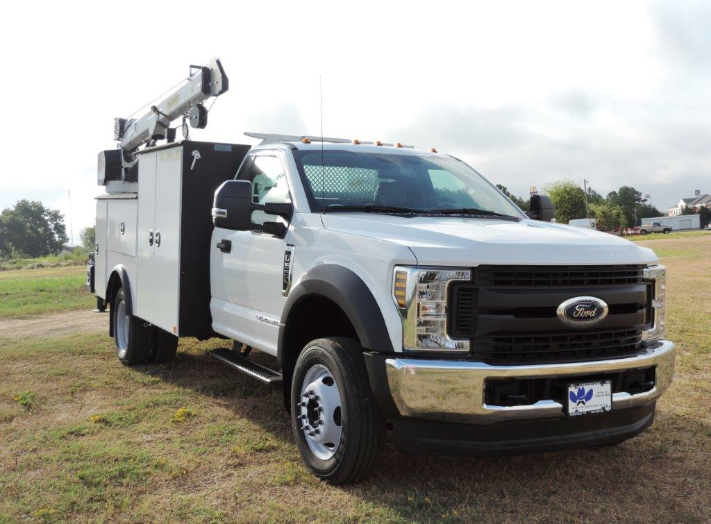 2019 F-550 Regular Cab DRW 4x4, Palfinger Mechanics Body #F72336 - photo 1