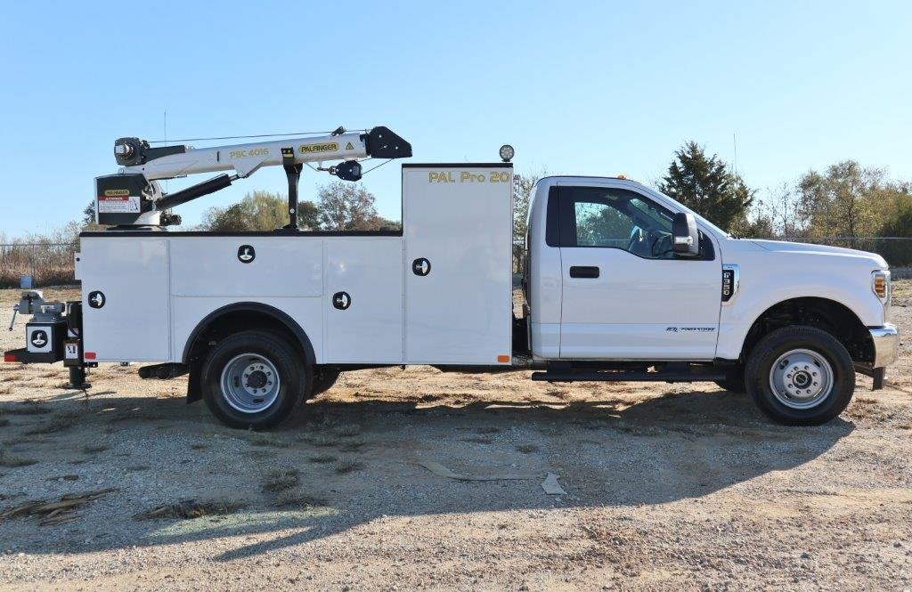 2019 F-350, Palfinger Mechanics Body