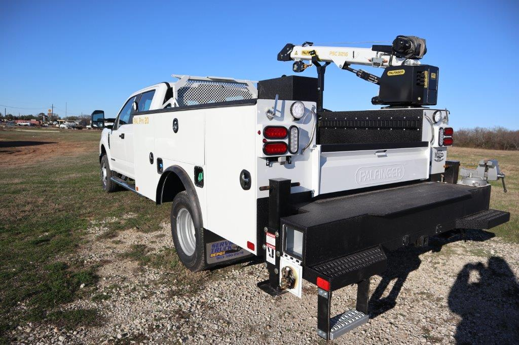 2019 F-350 Crew Cab DRW 4x4, Palfinger Mechanics Body #G40166 - photo 6