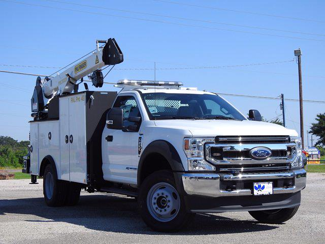 2021 Ford F-600 Regular Cab DRW 4x4, Cab Chassis #STA00738 - photo 1