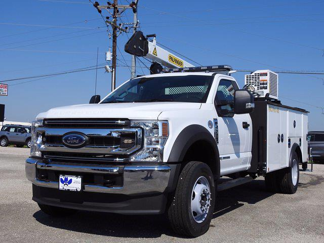 2021 Ford F-600 Regular Cab DRW 4x4, Cab Chassis #STA00738 - photo 4
