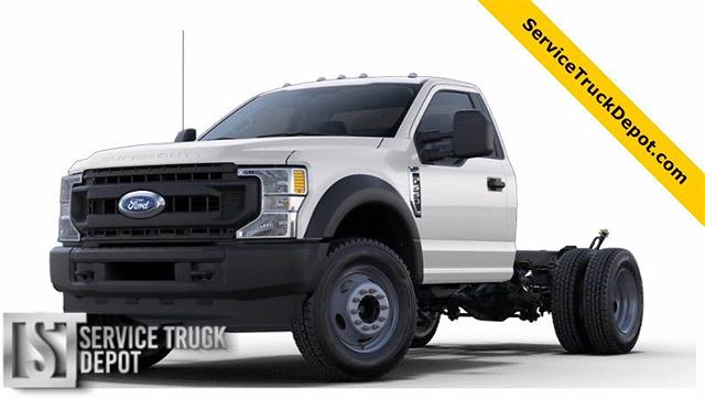2021 Ford F-600 Regular Cab DRW 4x4, Cab Chassis #STA00740 - photo 1