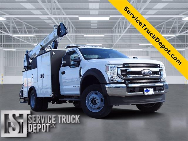 2021 Ford F-600 Regular Cab DRW 4x4, Cab Chassis #STA00741 - photo 1