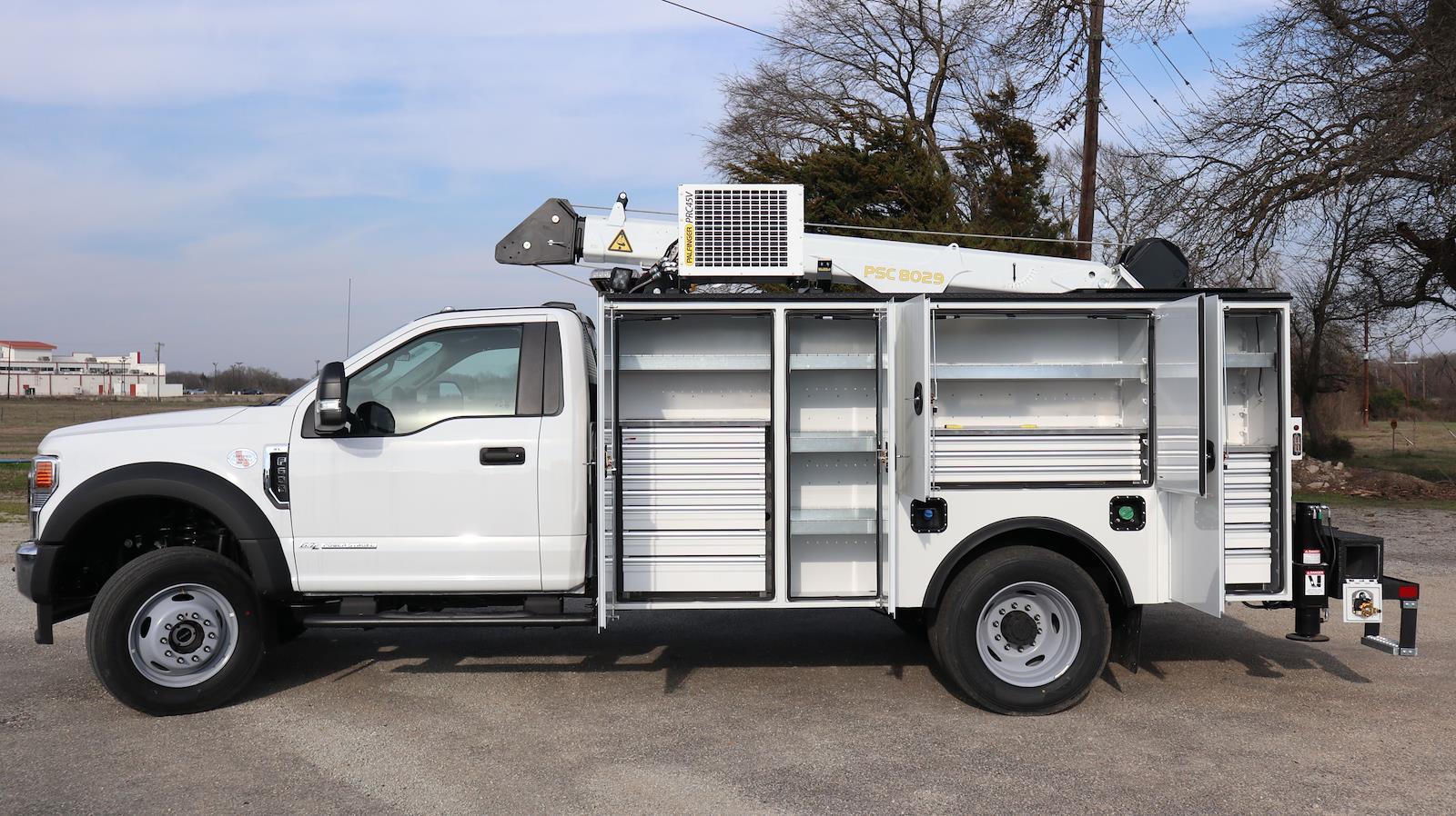 2021 Ford F-600 Regular Cab DRW 4x4, Palfinger Mechanics Body #STA00744 - photo 26