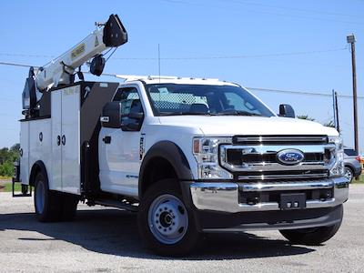 2021 Ford F-600 Regular Cab DRW 4x4, Cab Chassis #STA00744 - photo 1
