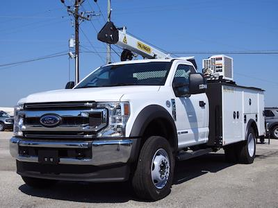 2021 Ford F-600 Regular Cab DRW 4x4, Cab Chassis #STA00744 - photo 3