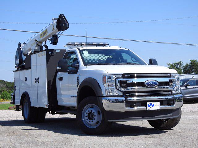 2021 Ford F-600 Regular Cab DRW 4x4, Cab Chassis #STA00745 - photo 1