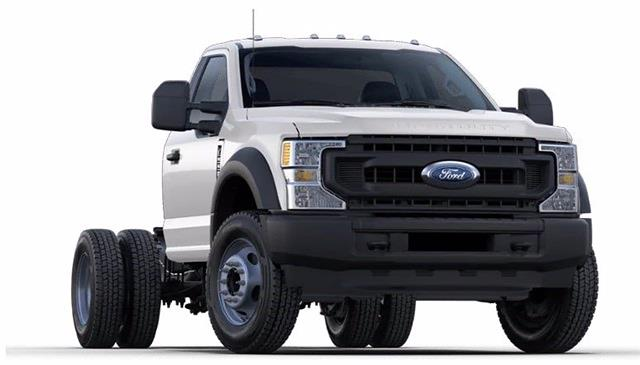 2021 Ford F-600 Regular Cab DRW 4x4, Cab Chassis #STA00747 - photo 4