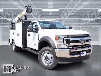2021 Ford F-600 Regular Cab DRW 4x4, Cab Chassis #STA00756 - photo 1