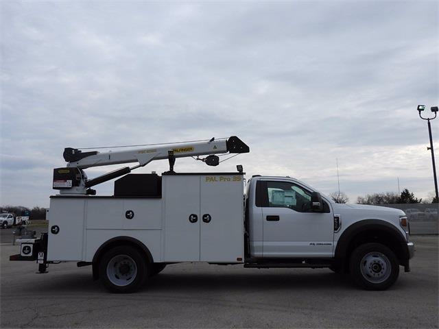 2020 Ford F-550 Regular Cab DRW 4x4, Palfinger PAL Pro 39 Mechanics Body #A11372 - photo 4