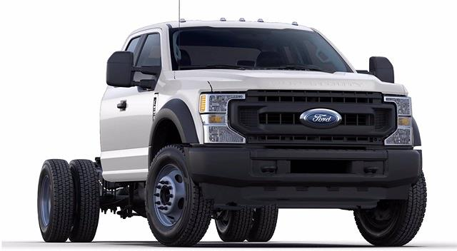 2021 Ford F-550 Super Cab DRW 4x4, Cab Chassis #STC11890 - photo 4