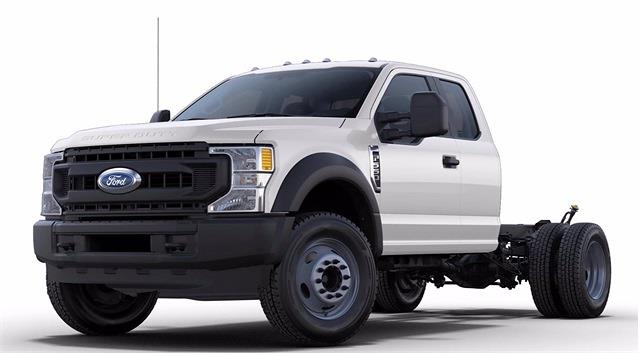 2021 Ford F-550 Super Cab DRW 4x4, Cab Chassis #STC11893 - photo 5