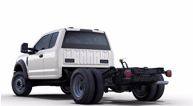 2021 Ford F-550 Super Cab DRW 4x4, Cab Chassis #STC11896 - photo 2