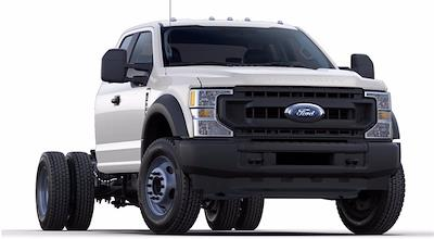 2021 Ford F-550 Super Cab DRW 4x4, Cab Chassis #STC11896 - photo 4