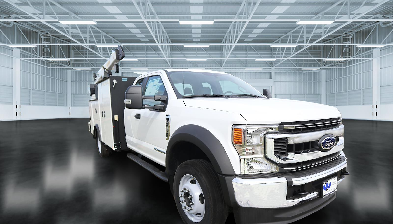 2020 Ford F-550 Super Cab DRW 4x4, Palfinger Mechanics Body #STE88326 - photo 1
