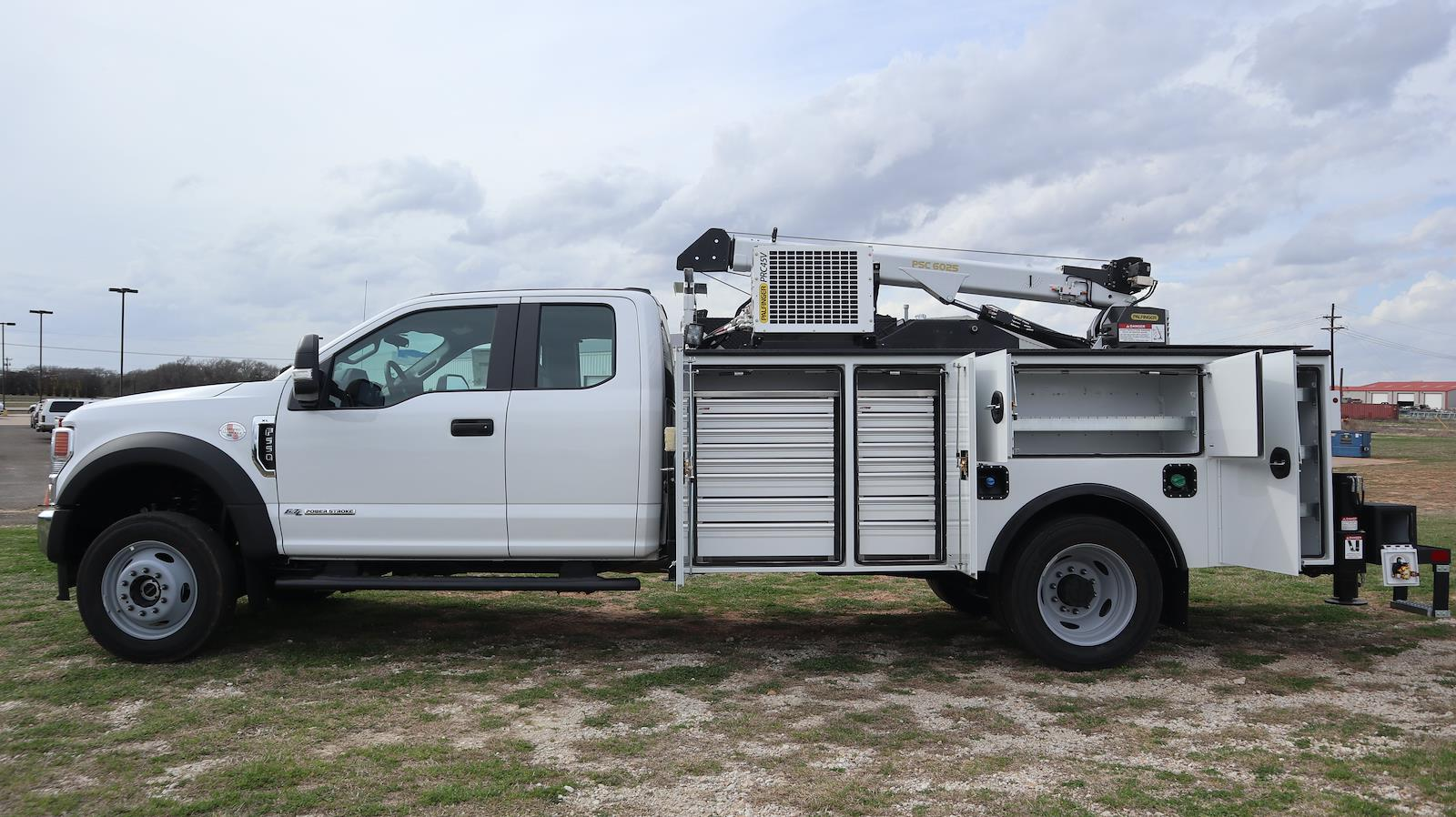 2020 Ford F-550 Super Cab DRW 4x4, Palfinger PAL Pro 43 Mechanics Body #STE88326 - photo 32