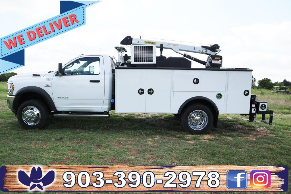2020 Ram 5500 Regular Cab DRW 4x4, Palfinger Mechanics Body #102499 - photo 1