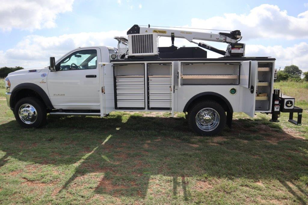 2020 Ram 5500 Regular Cab DRW 4x4, Palfinger PAL Pro 39 Mechanics Body #102499 - photo 46