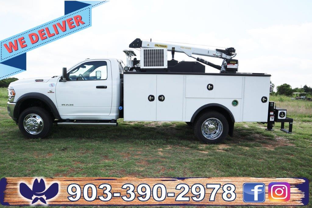 2020 Ram 5500 Regular Cab DRW 4x4, Palfinger PAL Pro 39 Mechanics Body #102509 - photo 1