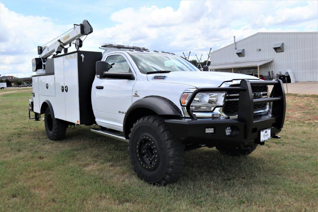 2020 Ram 5500 Regular Cab DRW 4x4, Palfinger PAL Pro 39 Mechanics Body #ST105272 - photo 6