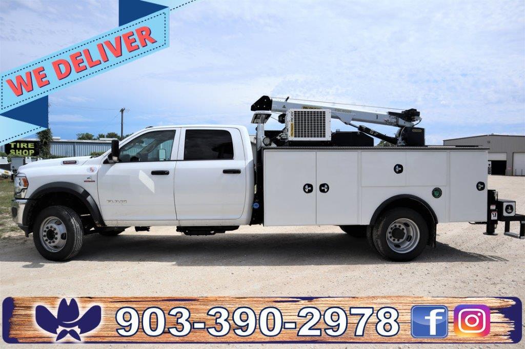 2020 Ram 5500 Crew Cab DRW 4x4, Palfinger PAL Pro 39 Mechanics Body #119707 - photo 1