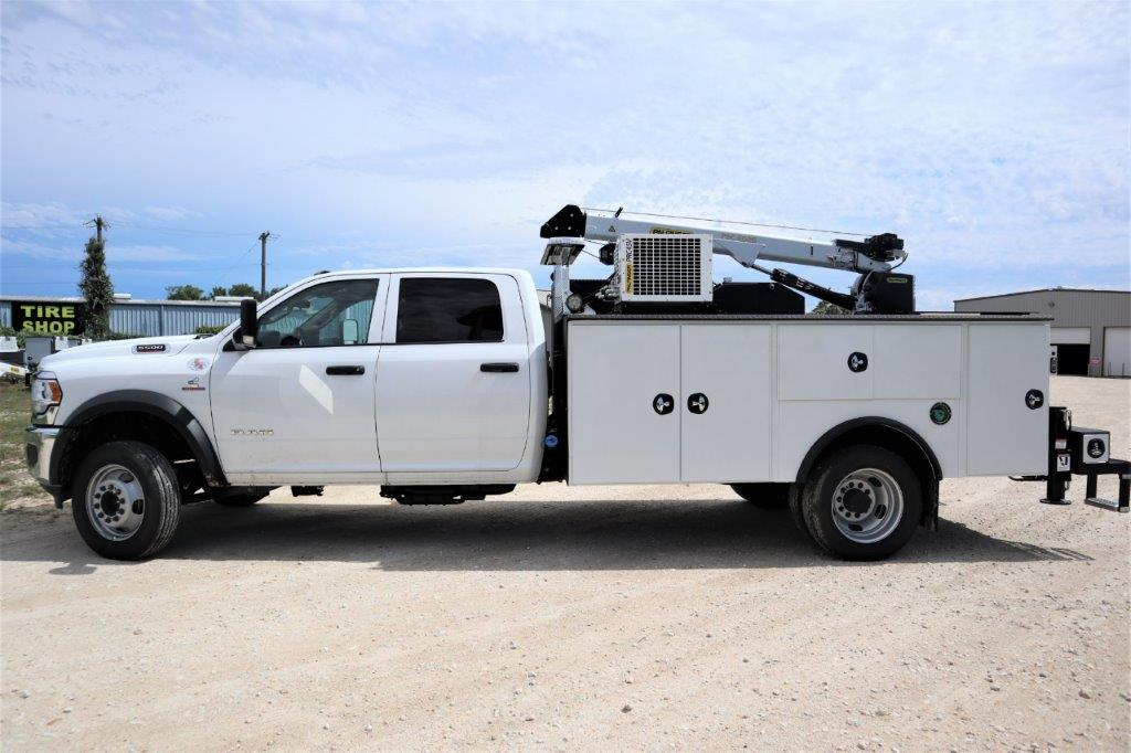 2020 Ram 5500 Crew Cab DRW 4x4, Palfinger PAL Pro 39 Mechanics Body #119707 - photo 2
