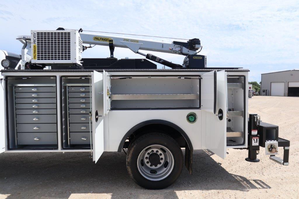 2020 Ram 5500 Crew Cab DRW 4x4, Palfinger PAL Pro 39 Mechanics Body #119707 - photo 35