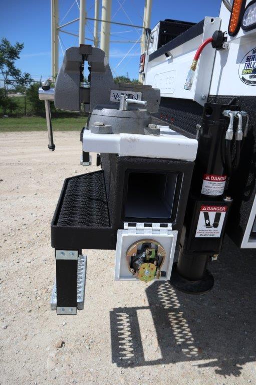 2020 Ram 5500 Crew Cab DRW 4x4, Palfinger PAL Pro 39 Mechanics Body #119707 - photo 37